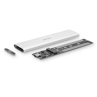 Rack extern USB 3.1 Gen 2 pentru SSD M.2, Lindy L43285