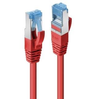 Cablu de retea Cat.6A S/FTP LSZH 30m Rosu, Lindy L47171