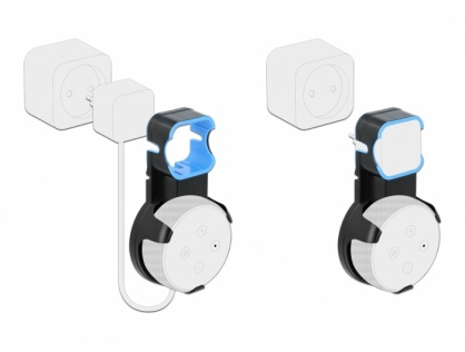 Suport montare perete pentru Echo Dot Generatia 3, Delock 18310