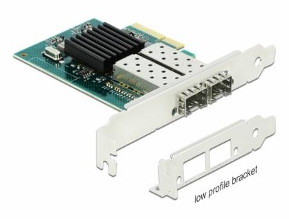 PCI Express la 2 x SFP slot Gigabit LAN, Delock 90480