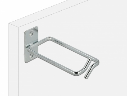 Suport metalic pentru cabluri montare in cabinet 80 x 40mm, Delock 66511