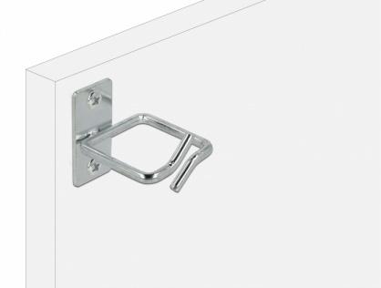 Suport metalic pentru cabluri montare in cabinet 40 x 40mm, Delock 66510