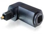 Adaptor Toslink T-M unghi 90 grade, Delock 65273