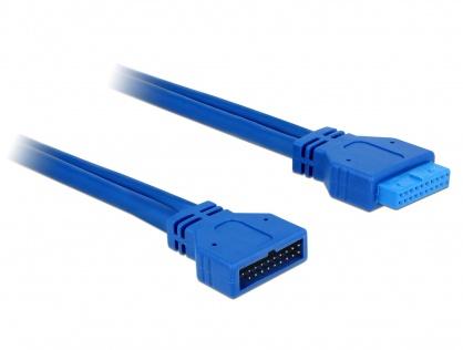Prelungitor cablu USB 3.0 pin header T - M, Delock 82943
