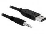 Cablu USB la Serial TTL 3.5 jack 1.8 m (3.3 V), Delock 83114