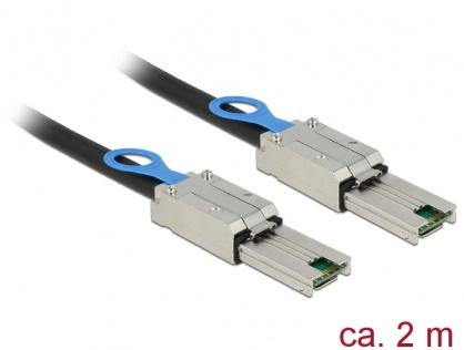 Cablu Mini SAS SFF-8088 la Mini SAS SFF-8088 2m, Delock 83571