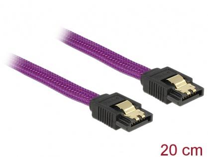 Cablu SATA III 6 Gb/s 20cm drept Premium, Delock 83689