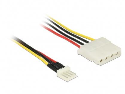 Cablu de alimentare Floppy 4 pini la Molex T-M 30cm, Delock 85457