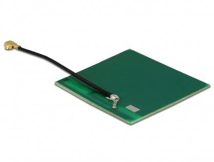 Antena WLAN MHF/U.FL-LP-068 802.11 b/g/n 2 dBi 50 mm PCB Intern Self Adhesive, Delock 86253