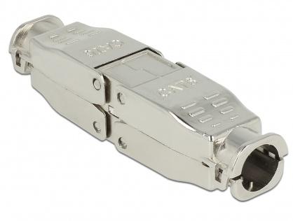 Cupla pentru retea RJ 45 Cat.6 STP toolfree, Delock 86428