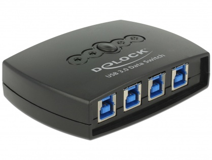 Sharing Switch USB 3.0 4 PC x 1 periferica, Delock 87724