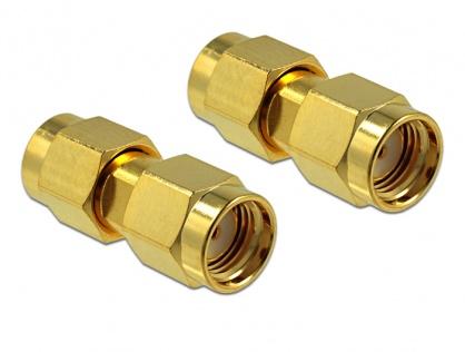 Adaptor RP-SMA Plug la RP-SMA Plug, Delock 88730