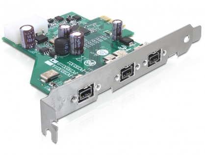 PCI Express la 3 x FireWire B, Delock 89210