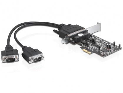 Placa PCI Express la 2 x Serial RS-422/485, Delock 89320