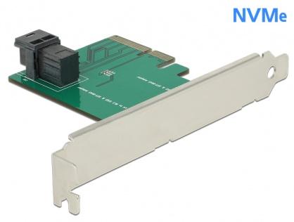 PCI Express x4 la 1 port intern SFF-8643 NVMe, Delock 89458