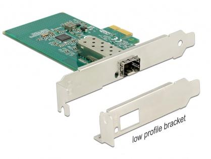 PCI Express Card la 1 x SFP Slot Gigabit LAN, Delock 89481