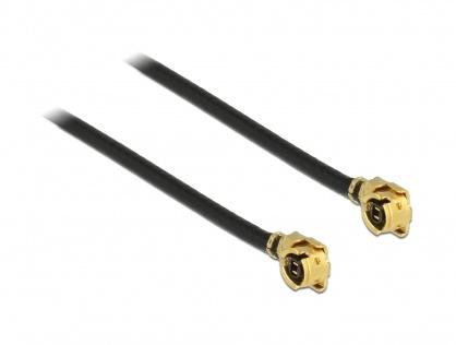 Cablu antena MHF / U.FL-LP-068 plug la MHF / U.FL-LP-068 plug 30cm 1.13, Delock 89609