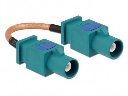 Cablu antena FAKRA Z plug la FAKRA Z plug RG-316 10cm, Delock 89663