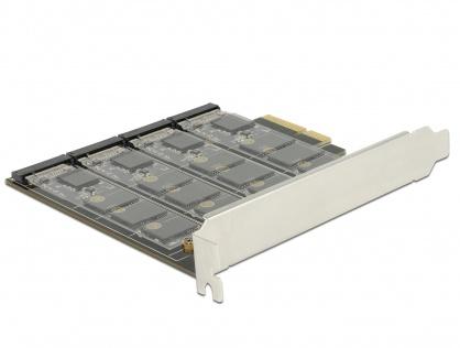 PCI Express cu 4 porturi M.2 key B RAID, Delock 89888