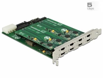 PCI Express la 8 x USB 3.1 Gen 1 tip C, Delock 90308