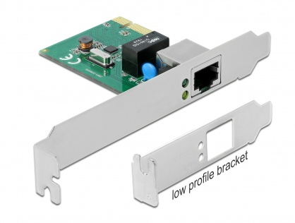 PCI Express cu un port Gigabit LAN, Delock 90381