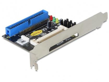 Cititor de carduri IDE 40/44 pini la Compact Flash, Delock 91624