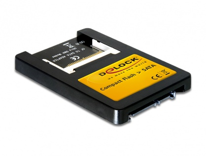 Card reader Compact Flash la interfata SATA 2,5 inch, Delock 91661