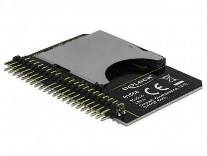 Convertor IDE 44 pini la card SD, Delock  91664