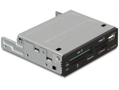 """Cititor de carduri intern 3.5"""" 57 in 1 + 1 x USB 2.0, Delock 91674"""