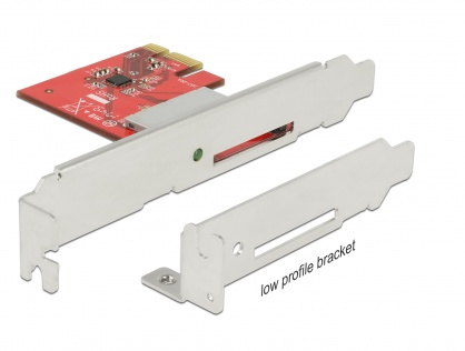 PCI Express la 1 slot extern SDXC, Delock 91743