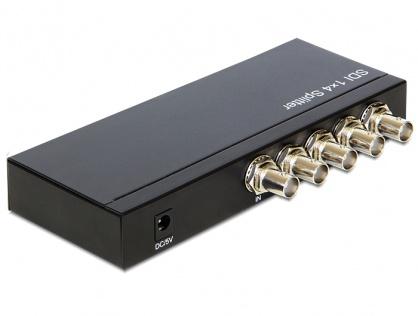 Multiplicator 4 porturi 3G-SDI, Delock 93250
