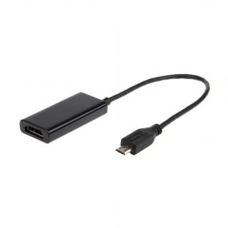 Adaptor micro USB 11 pini MHL la HDMI, Gembird A-MHL-003