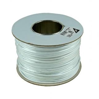 Rola 100m cablu pentru alarma cupru Alb, Gembird AC-6-002-100M
