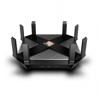 Router wireless Dual Band 802.11ax/Wi-fi 6 cu 6 antene externe, TP-LINK Archer AX6000
