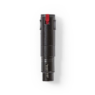 Adaptor XLR 3 pini la jack 6.3 mm M-M, Nedis COTP15944BK