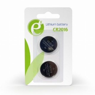 Set 2 buc baterie CR2016 3V Litiu, Energenie EG-BA-CR2016-01