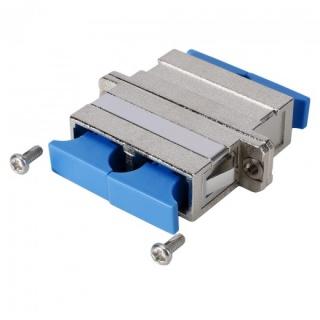 Adaptor metalic fibra optica SC - SC Duplex, GF-SC2SC2-FF