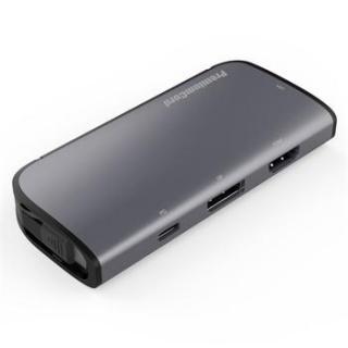 Docking station USB-C la HDMI 1.4 + VGA + Displayport 1.2 + PD 3.0 MST, KU31DOCK14