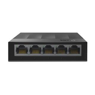 Switch Desktop LiteWave 5 porturi Gigabit Negru, TP-LINK LS1005G