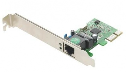 Placa de retea PCI Express Gigabit, Gembird NIC-GX1