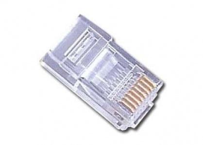 Set 10 conectori de retea UTP RJ45 cat 5e, Gembird PLUG3UP6/10