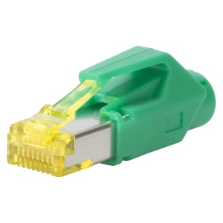 Conector de retea RJ45 cat. 6A Verde, RJ45C6A-GN