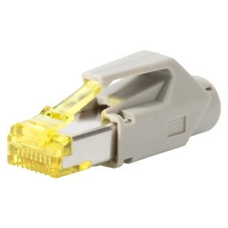 Conector de retea RJ45 cat. 6A Gri, RJ45C6A-GR