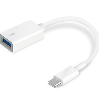 Adaptor USB 3.0 tip C la USB-A 12cm Alb, TP-LINK UC400