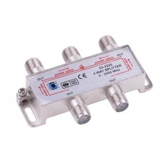 Splitter coaxial (antena tv) 4 porturi 5-2450 MHZ, ZLA0637