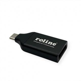 Adaptor USB-C la DisplayPort 1.2 T-M, Roline 12.03.3227