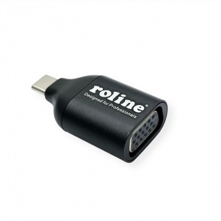 Adaptor USB-C la VGA T-M, Roline 12.03.3228