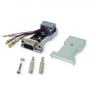 Adaptor serial DB9 la RJ45 M-M, 12.03.7529