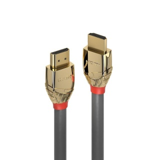 Cablu Ultra High Speed HDMI 10K@120Hz Gold Line T-T 1m, Lindy L37601