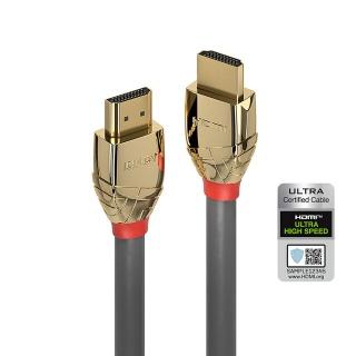 Cablu Ultra High Speed HDMI 10K@120Hz Gold Line T-T 2m, Lindy L37602